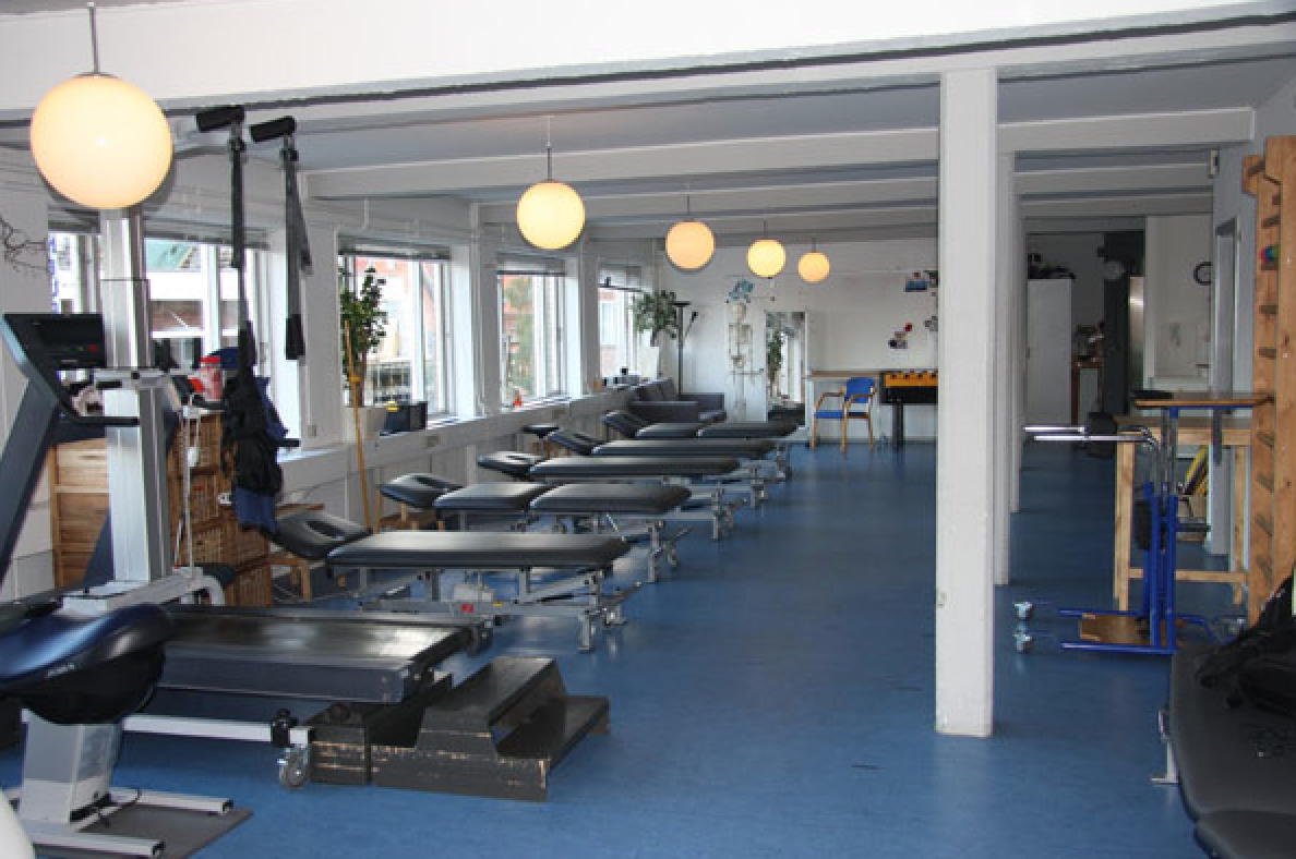 Faciliteterne - træningslokalet